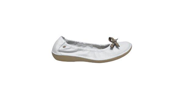 Dámske biele balerínky Buggy