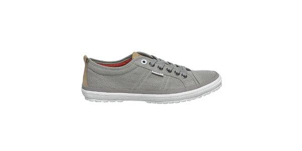 Pánske šedé topánky Buggy