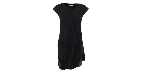 Dámske vzdušné čierne šaty Gene
