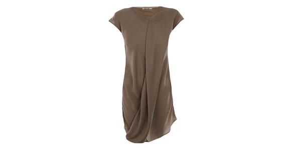 Dámske vzdušné béžové šaty Gene