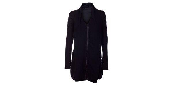 Dámske čierne šaty Angels Never Die s límcom a korálkami 2d1b2adc50