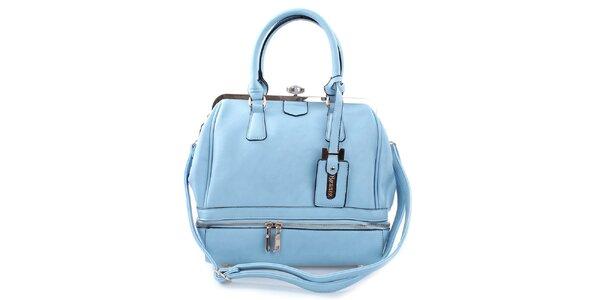 Dámska elegantná svetlo modrá kabelka Bessie