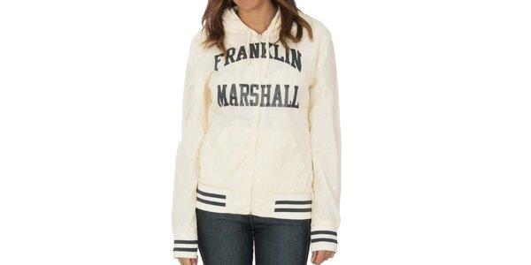 Dámska krémovo biela bundička Franklin & Marshall