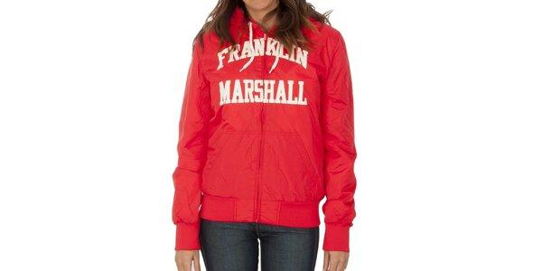 Dámska červená bunda Franklin & Marshall