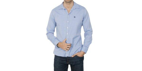 Pánska svetlo modrá košeľa Franklin & Marshall