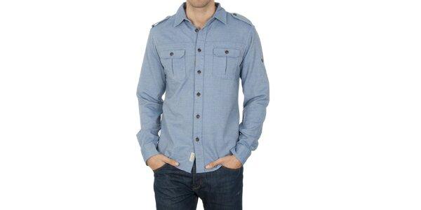 Pánska modrá košeľa Franklin & Marshall