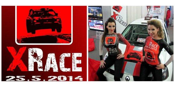Adrenalínová motoristická show XRACE