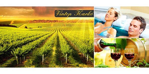 Oddych a wellness vo vinárskej oblasti
