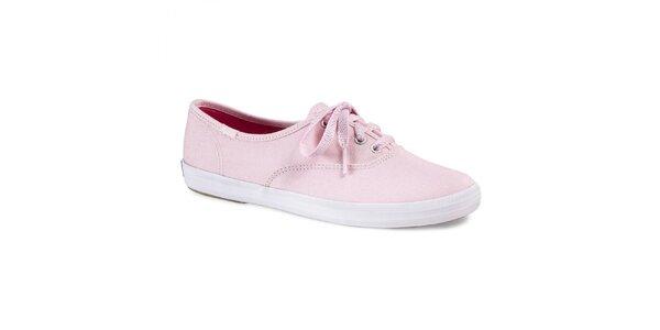 Dámske svetlo ružové tenisky Keds