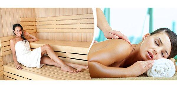 Klasická alebo medová masáž a sauna