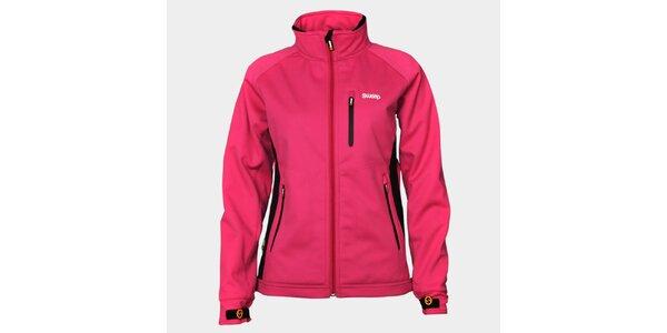 Dámska ružová softshellová bunda Sweep