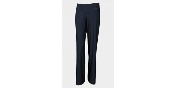 Dámske dlhé čierne elastické nohavice Sweep
