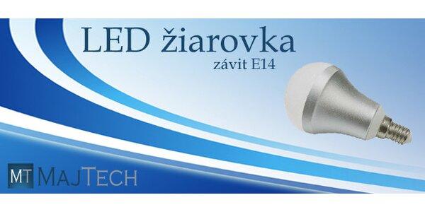 LED žiarovka s malým závitom E14 a rôznymi výkonmi