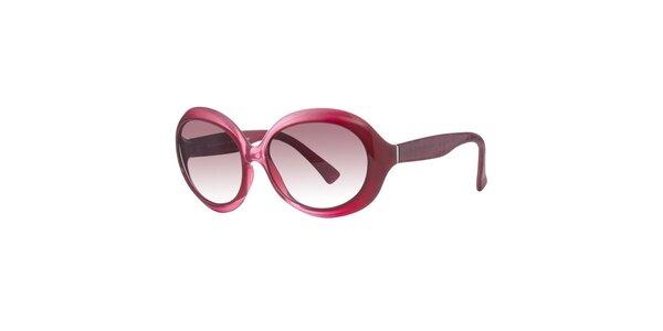 Dámske červené slnečné okuliare Fendi