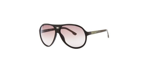Pánske retro khaki slnečné okuliare Diesel