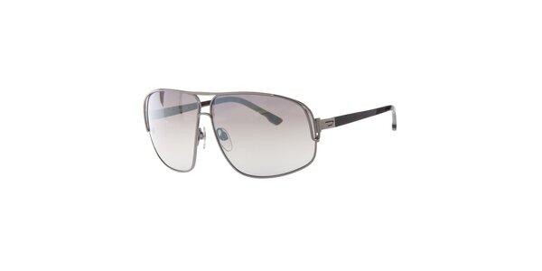 Pánske slnečné okuliare Diesel so zrkadlovými sklami