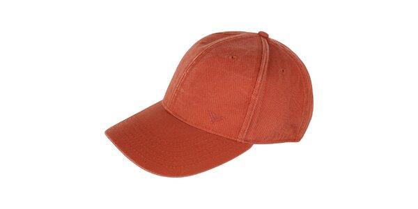 Pánska oranžová šiltovka Bushman