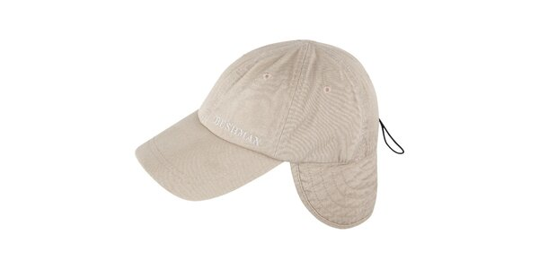 Pánska béžová čiapka Bushman