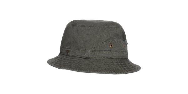 Pánsky tmavo zelený klobúčik Bushman