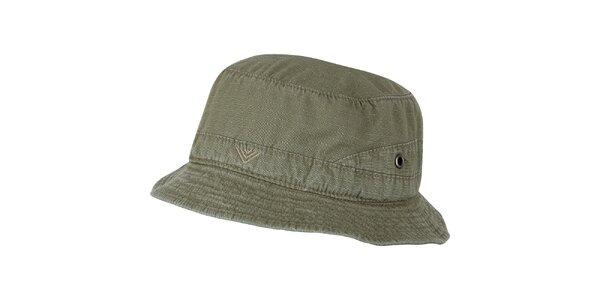 Pánsky olivovo zelený klobúčik Bushman