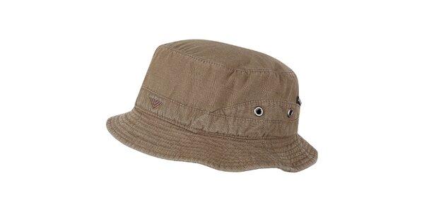 Pánsky pieskovo hnedý klobúčik Bushman