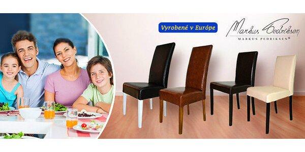 Elegantné stoličky Markus Pedriksen 1+1 zdarma