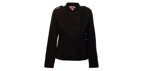 Dámsky tmavo šedý kabátik Yumi