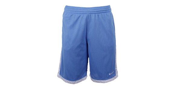 Pánske svetlo modré šortky Nike