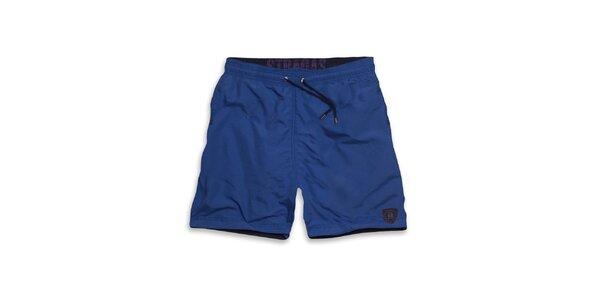 Pánske modré šortky Paul Stragas