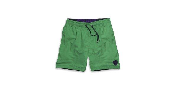 Pánske zelené šortky Paul Stragas
