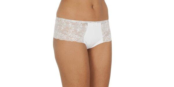 Dámske biele nohavičky Tommy Hilfiger