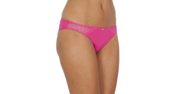 Dámske sýto ružové nohavičky Tommy Hilfiger