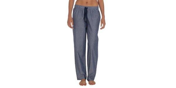 Dámske bodkované pyžamové nohavice Tommy Hilfiger