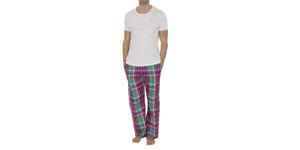 Pánske pyžamo s farebnými nohavicami Tommy Hilfiger