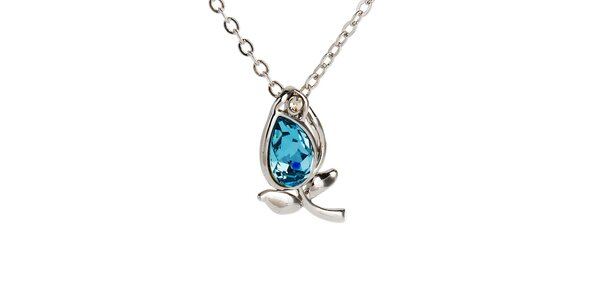 Dámsky náhrdelník s lístočkami Fifi Ange