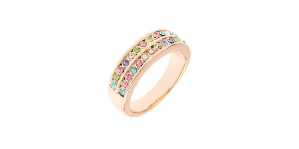 Dámsky prstienok s farebnými kamienkami Fifi Ange