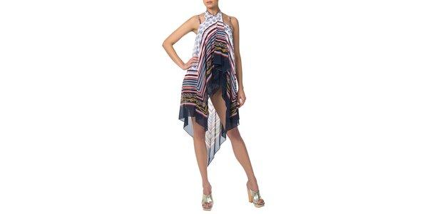 Dámska sukňa s námorníckym motívom Charmante