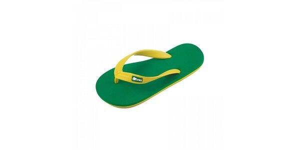 Zeleno-žlté žabky Breo