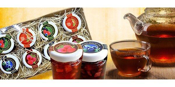 Pečené ovocné čaje rozmanitých príchutí
