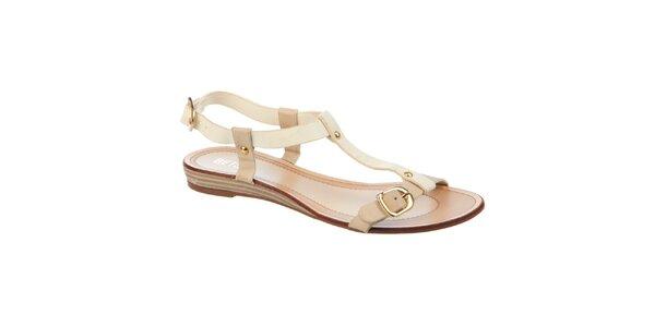 Dámske krémové sandálky Betsy