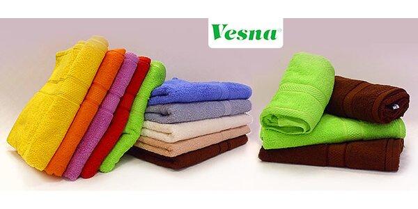 Mäkký uterák a osuška zo 100 % bavlny