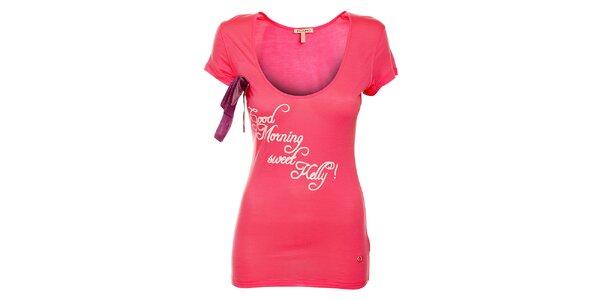 455b4027b89e Dámske ružové tričko Phard s krátkym rukávom