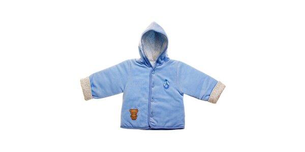 Svetlo modrý kojenecký kabátik Lullaby