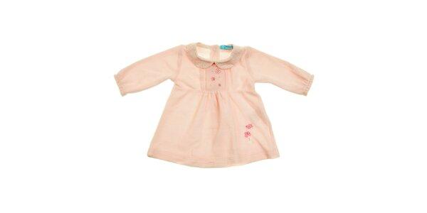 Detské ružové šatičky Lullaby