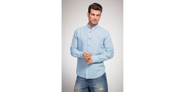 Pánska bledo modrá košeľa Bendorff