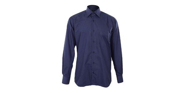 Pánska námornícky modrá košeľa Dicotto