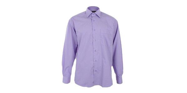 Pánska fialová košeľa Dicotto
