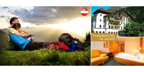 All inclusive pobyt pre celú rodinu v Tirolských Alpách