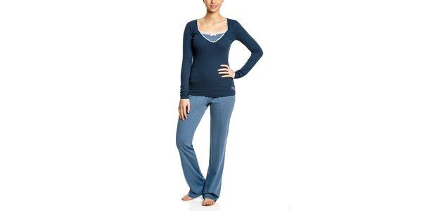 Dámske modré pyžamo Vive Maria