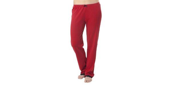 Dámske červené pyžamové nohavice Vive Maria
